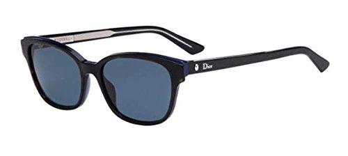 Dior Christian Sonnenbrille MONTAIGNE3S 9A_G9Z (54 mm) schwarz/blau