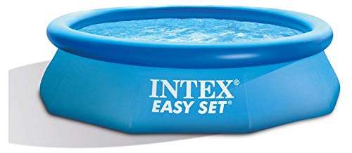 Intex 28120NP Easy Set - Piscina hinchable Intex octogonal, 3.853 litros, 305 x 76cm