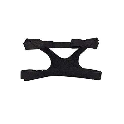 WEIWEITOE Universal Design Headgear Comfort Gel Vollmaske Sichere Umwelt Ersatz CPAP Kopfband Ohne Maske Für PHILPS, schwarz, -