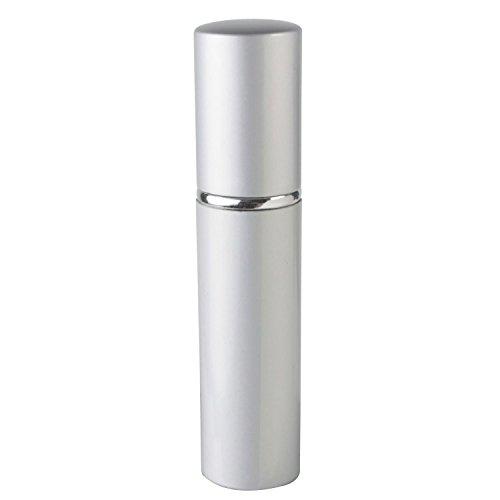 TOOGOO(R) Argent rechargeable Taille du Voyage Bouteille De Parfum vaporisateur, 12ml .41oz Taille: 1pcs de 12ml