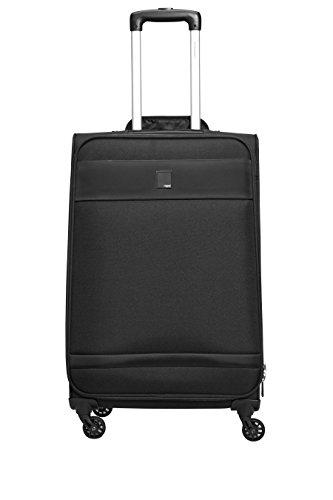 next Herren Mittelgroßer Softshell Koffer Reisekoffer Schwarz Einheitsgroesse (Metall-schlange Handtasche)
