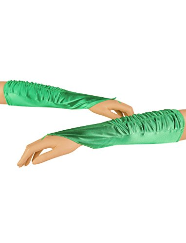 Deiters Handschuhe fingerlos Satin grün