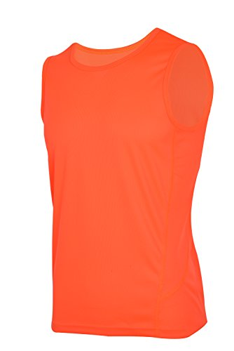 H.MILES Herren Tank Top Ärmelloses T-Shirt Radsport Running Laufshirt Laufhemd Funktionswäsche Quick Dry Sleeveless Shirt