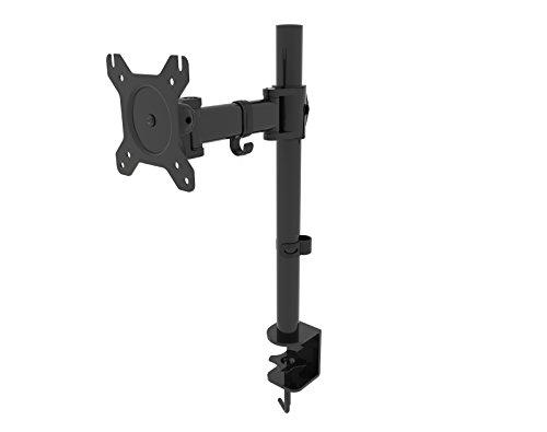 HFTEK HF27DB Soporte para Monitor Desk Mount Bracket Soporte de Escritorio para Pantalla 13' - 27' Pulgada con VESA 75/100