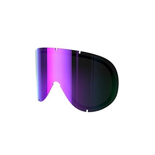 Poc screen retina di ricambio spare lens, grey/purple mirror, pc413359448one1