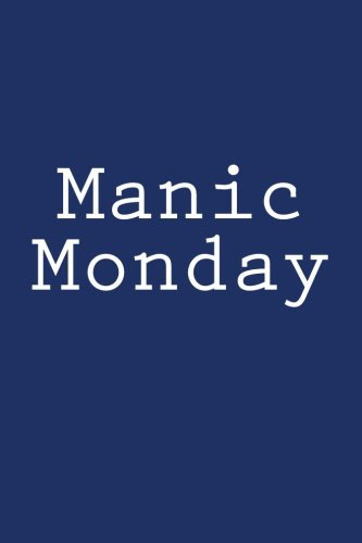 Manic Monday: Journal / Notebook di Wild Pages Press