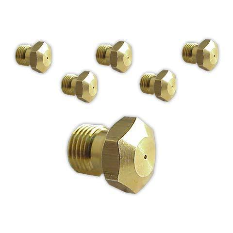 DOJA Industrial | Inyectores Cocina M-8 [kit 6] | Gas Butano Gas...