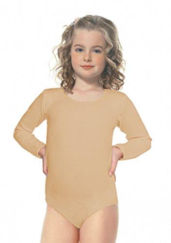 Leg Avenue 73011 - Kinder Bodysuit, Größe 128-140, nude (Bodysuit Avenue Leg)