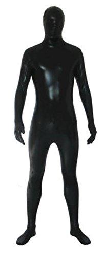 (Howriis Unisex Metallic Full Zentai Spandex Fancy Kleid Lycra Anzug)