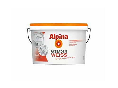 Alpina FassadenWeiss 2,5 L