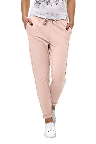 ONLY Damen Hose Onlpoptrash Easy Colour Pant Pnt Noos, Rosa