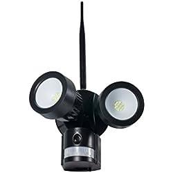 Technaxx IP-Cam HD Outdoor Überwachungskamera mit LED Flutlicht TX-83, PIR Bewegungsmelder und 2 Way Talk