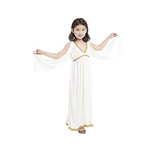 DUOLAIMENG Halloween ägyptische Prinzessin für Mädchen Kinder