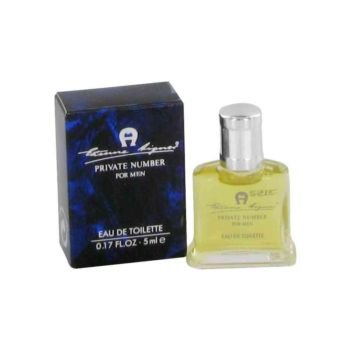 Private Number by Etienne Aigner Mini EDT .17 oz For Men