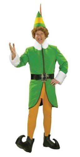Kost-me f-r alle Gelegenheiten RU25540XL Buddy Die Elf Dlx Adult Xlarge (Buddy Elf Für Erwachsenen Kostüm)