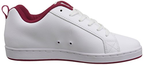 DC Shoes COURT GRAFFIK SE SHOE D0300927, Scarpe sportive uomo White/Green Plaid