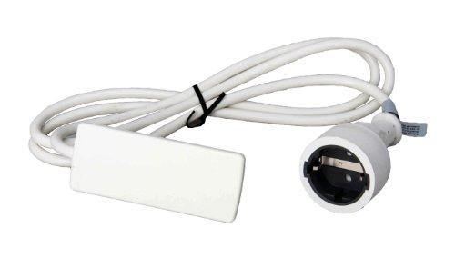 151000155300 Evoline Plug Schukostecker weiß