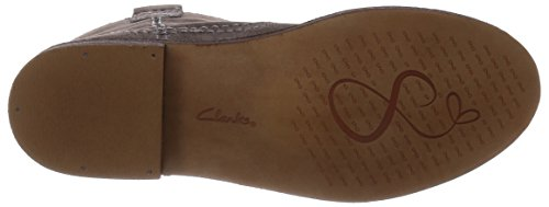 Clarks - Cabaret Rock, Stivali chukka Donna Beige (Taupe Suede)