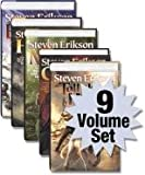 Malazan Series Books 1-9 (Gardens of the Moon, Deadhouse Gates, Memories of Ice, House of Chains, Midnight Tides, the Bone Hunters, Reaper's Gale, Toll the Hounds, Dust of Dreams) (Malazan, 1-9)