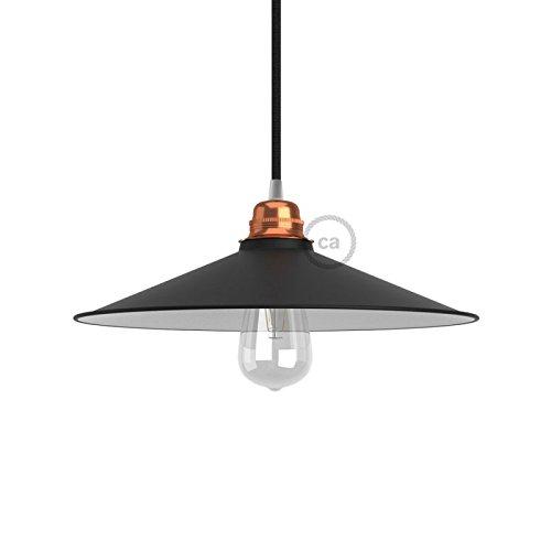 pantalla-swing-e27-plato-concavo-de-metal-recubrimiento-de-esmalte-negro-con-interior-blanco
