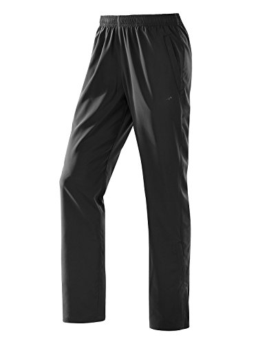 Michaelax-Fashion-Trade -  Pantaloni sportivi  - straight - Basic - Uomo Black - Black (00700)