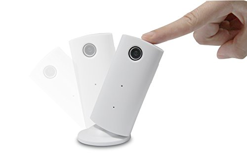 ORIGINAL eyeCam 720p IP WIFI Kamera, WLAN, Sicherheitskamera, Baby Überwachung, Sprachfunktion, 360° drehbar, Fernzugriff (198) (Versteckte Kamera Wecker, Wifi)