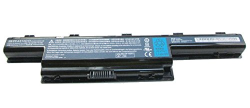 Acer Li-ION 6-Cell 4400mAh Batterie Rechargeable Lithium-ION (Li-ION) 11,1 V - Batteries Rechargeables (4400 mAh, Lithium-ION (Li-ION), 11,1 V, Noir, 1 pièce(s))
