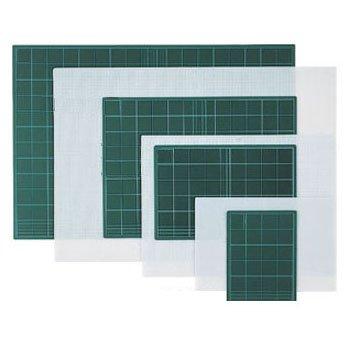 KDS SM-2000H - Piano di taglio con tabella (tavola per misurare e tagliare) - 450 x 300 x 3 mm -  [ Tipo: Duro ] - Colore verde (Cutting Board)