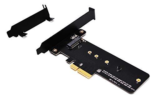 Glotrends M.2 PCIe nvme o PCIe AHCI SSD PCIe 3.0 x 4 Adattatore Scheda per chiave M