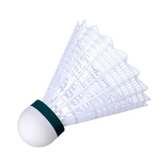 Tijarat Sports Nylon White Mini Shuttlecock standered Size(Pack of 10).Badminton Shuttlecock