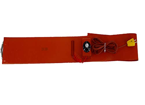 YXS Standard Heavy Duty Poly Drum Heater, Dieselheizung, Geeignet für Metallwanne aus Kunststoff Pail Honig Eimer Farbe Pail, 5in Breite, 68 in der Länge, 1 STK,110V -