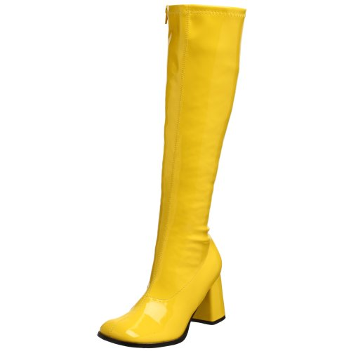 Pleaser Gogo300/yl, Damen Stiefel, Gelb (yellow), 39 EU
