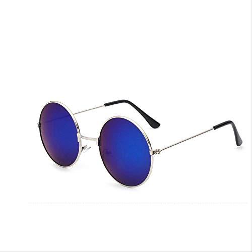 MJDL Unisex Sonnenbrille S/L Größe Vintage Retro Runde Rahmen Sonnenbrille Für Familie Unisex Kinder Shades Brillen Junge Mädchen Frauen Kinder T4