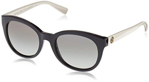 Michael Kors Unisex MK6019 Champagne Beach Sonnenbrille, Schwarz (Black 305211), One size (Herstellergröße: 53)