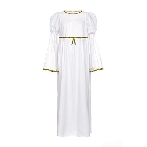 Kostümplanet® Engel-Kostüm Mädchen 140 Kinder Kostüm Fasching Weihnachten