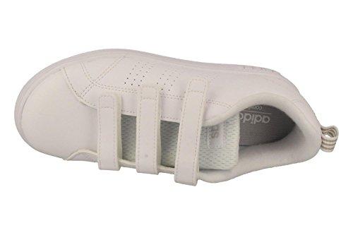 adidas Vs Adv Cl Cmf C, Sneaker a Collo Basso Unisex – Bambini Bianco (Ftwr White/Grey One )