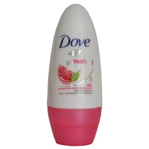 Dove Go Fresh roll Sur grenade 50ml - Pack de 4