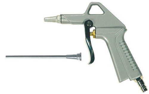 Mecafer 150027 Druckluftpistole mit langem und kurzem Endstück