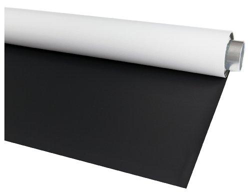 Bessel Fotohintergrund, tragbar, Vinyl, 1,45 m x 3 m, doppelseitig, Matt-schwarz/Weiß