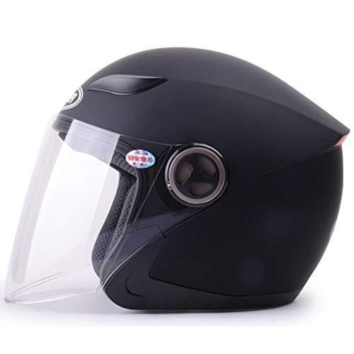 Casco moto open face con visiera parasole a scomparsa Casco moto Caschi moto Casco moto scoot