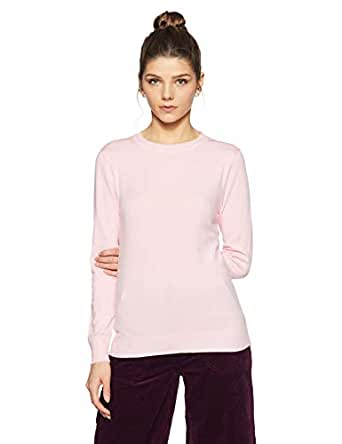 Qube By Fort Collins Women's Sweater (CH101_Pink_M)