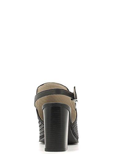 KEYS 5427 Sandalo tacco Donna Nero