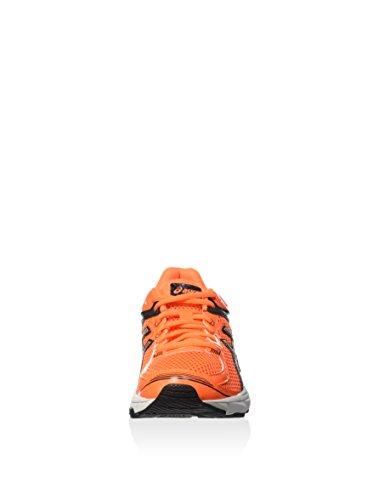 ASICS Gt-1000 4 Gs -  Scarpe da corsa, unisex per adulto HOT ORANGE/SILVER/BLACK