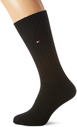 Tommy Hilfiger Herren TH Men Sock Washington Cashmere Blend 1P, Schwarz (Black 200), 43 (Schwarz Blend Herren Wolle)