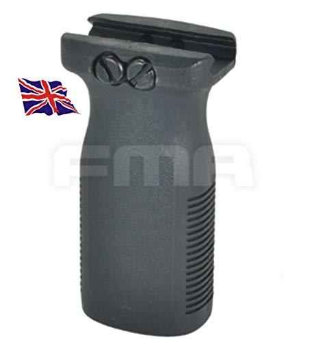 FMA Softair PTS Stil Rvg Vertikaler Frontgriff AEG Griff schwarz SWAT 20mm Schiene UK