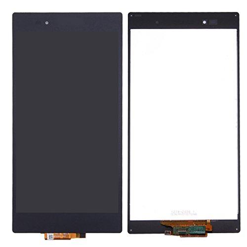 LCD Screen/Touch Screen Pad Replacement Ersatz/Ersetzen LCD-Bildschirm + Touchscreen-Panel for Sony Xperia Z Ultra / XL39 (Schwarz) Digitizer Full Assembly for Sony (Xperia Touch-screen-sony Ultra Z)