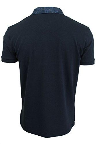 Herren kurzärmliges Polohemd aus der Blackout Collection von Voi Jeans Huston - Black Irish