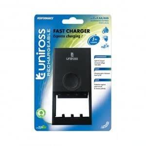 Uniross Fast 1 Hour Aa And Aaa Battery Charger Amazon Co