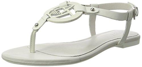 Armani Jeans 9252197p613, Sandales Pour Femmes Blanc (blanc)