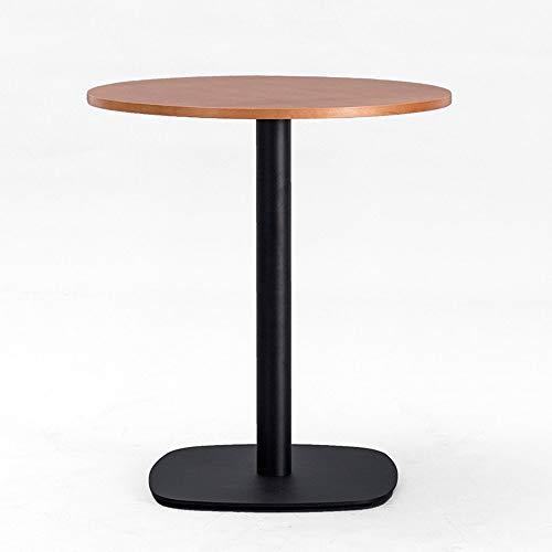 BinLZ-Table Moderner Konferenztisch Kaffeerundtisch Verhandlungstisch Empfangstisch Massivholz, 2, 80 * 72 cm